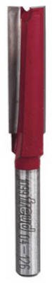 Freud 04-126 3/8 x 1.25-Inch 2-Flute Straight Router Bit by Freud