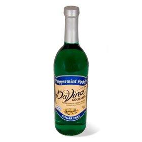 (Da Vinci SUGAR FREE Peppermint Paddy Syrup 750mL with Splenda)
