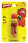 Carmex Strawberry Flavor Moisturizing Lip Balm Tube SPF 15