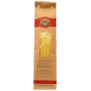 Montebello Organic Semo Capellini Pasta, 1 Pound -- 12 per case. -  0001553210104