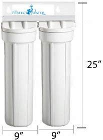 Home Master - Whole House Water Filter - 2 Stage Fine Sediment & Carbon Filter