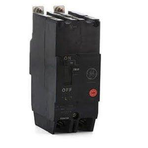 GE TEY215 Bolt-On Mount Type TEY Molded Case Circuit Breaker 2-Pole 15 Amp 480/277 Volt AC 250 Volt DC