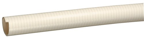 Cream 1 100/' Length Kuriyama F27MCRX100 Tigerflex FMCR Series 1 PVC Suction Hose Spa Hose 100 PSI Max Pressure 100 Length