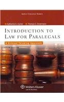 INTRODUCTION TO LAW FOR PARALEGALS FIFTH EDITION (Introduction To Law For Paralegals 5th Edition)