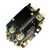 OEM Replacement for York Single Pole / 1 Pole 30 Amp 24V Coil Condenser Contactor 3100-15Q2115