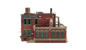 WOODLAND SCENICS BR5848 Morrison Door Factory O, used for sale  Delivered anywhere in USA