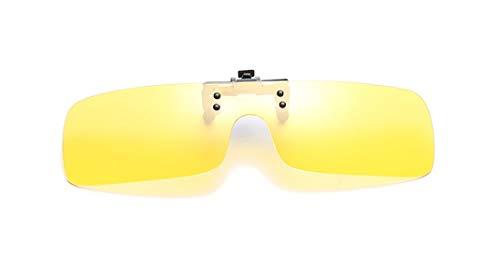 cómodos para Gafas Men Mirrored Color sol Elegantes Lens Clip pesca Clips Polarizadas Mujeres exterior Rectángulo de y de en 1 Gafas conducción miopes Sol 7U7wq6x