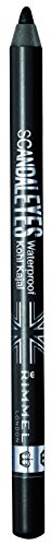 Rimmel Scandaleyes Waterproof Kohl Kajal Liner, Black, 0.04 Fluid (Kohl Eye Pencil)
