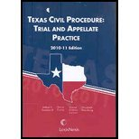 Texas Civil Procedure : Trial and Appellate Practice, Dorsaneo, William V., 142247769X