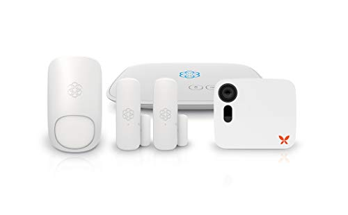 Ooma, Smart Home Security w/ Camera:  Free real-time DIY monitoring, 24x7 live video, audio alerts and notifications to unlimited recipients. Optional facial recognition, auto arm/disarm, Remote 911