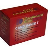 (Cardboard Gold 200ct Card Saver 1 - Semi Rigid Sleeves Protectors - PSA - BGS - Graded Card)
