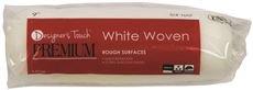 DESIGNER'S TOUCH GIDS-2491981 Designer Touch Premium Roller Cover, White Woven, 9
