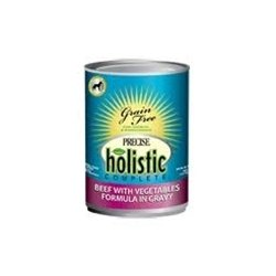 Precise Holistic Complete Grain Free Beef with Vegetables Formula Canned Dog Food (13.2oz (12 in case))