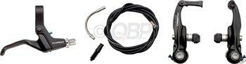 Tektro BMX Brk/Lvr/Cbl Set 926AL/316A/2P Blk (Linear Bmx Pull)