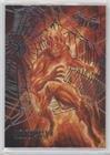 Molten Web - Molten Man (Trading Card) 2017 Fleer Ultra Spider-Man - [Base] - Web Foil #6