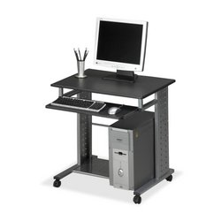 New-Mayline 945ANT - Eastwinds Empire Mobile PC Cart, 29w x 23d x 29h, Anthracite - MLN945ANT by Mayline