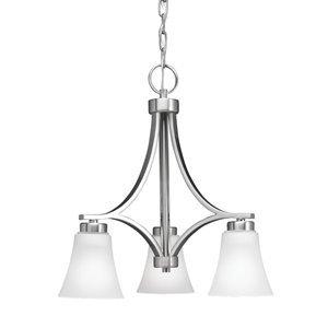 Portfolio 3 light lyndsay brushed nickel chandelier amazon portfolio 3 light lyndsay brushed nickel chandelier aloadofball Image collections