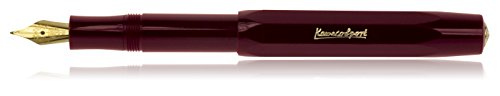 Kaweco Sport Classic Fountainpen burgundy M (medium) - Fountain Octagonal