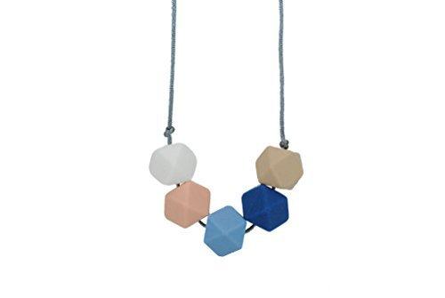 Geometric Green Necklace - 3