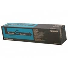 Kyocera 1T02LKCUS0 Model TK-8307C Cyan Toner Kit For use with Kyocera TASKalfa 3050ci, 3051ci, 3550ci and 3551ci A3 Color Multifunction Printers; Up to 15000 Pages Yield at 5% Average Coverage