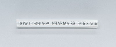 1//4 x 3//8 50-ft pk 1//4 x 3//8 9.6 9.6 6.4 COLE-PARMER 4066764 Dow Corning Pharma-80 Tubing 6.4