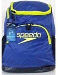Speedo Quantum 35L Navy/Yellow Laptop Padded Backpack