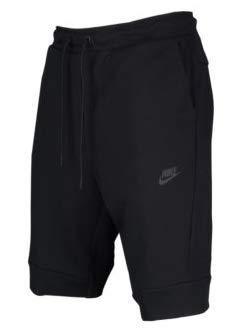 ナイキ メンズ Nike Tech Fleece Shorts ショーツ バスパン ハーフパンツ Black/Black/Black [並行輸入品] B07HC7PFGC  XXL