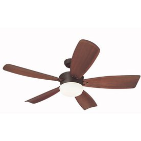 Saratoga 5 Light - Harbor Breeze 60-in Saratoga Oil-Rubbed Bronze Ceiling Fan with Light Kit and Remote
