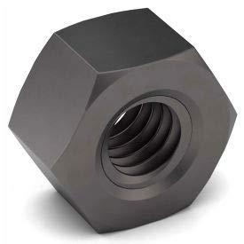 7/8-9 Hex Nut - Grade 8 - Left Hand - Carbon Steel - Zinc Yellow - Coarse - Pkg of 50 (331257P)