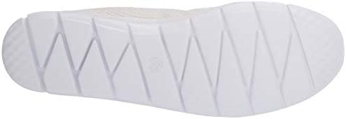Clarks Women\'s Step Allena Bay Sneaker, White Textile, 70 M US