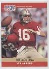 #5: Joe Montana (Football Card) 1990 Pro Set - [Base] - Blank Back #293