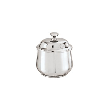 SAMBONET - Sugar Bowl With Cover Cl. 26 Elite - Silverplated