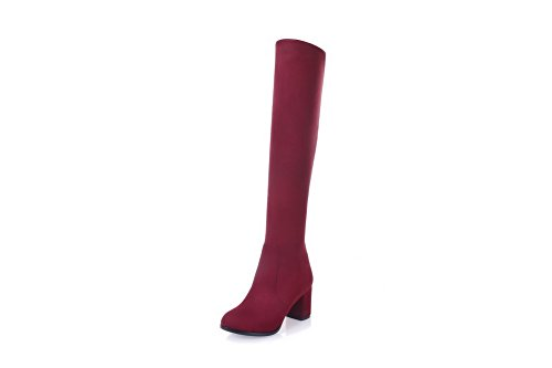 Abl10517 Balamasa Red Femme Sandales Compensées 6FZnUXq