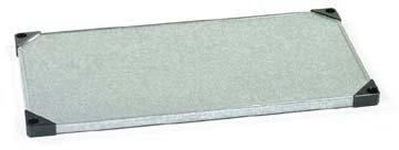 Nexel Solid Galvanized Steel Shelf, 24