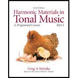 Harmonic materials in tonal&audio CD Harmon, Steinke and Steinke, Greg A., 0205691056