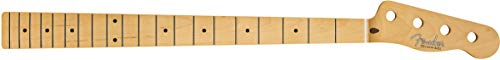 Fender '51 Precision Bass - Replacement Electric Bass Guitar Neck - 21 Medium Jumbo Frets - 9.5