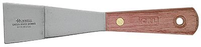 CRL Russell 1-5/8 in Stiff Bent Putty Knife