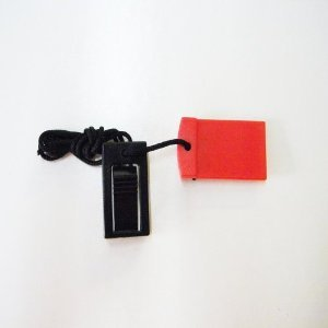 Ausdauertraining Treadmill Key 1 Round Red Magnet