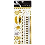 Nature Inspired Metallic Flash Tattoos by Style Essentials