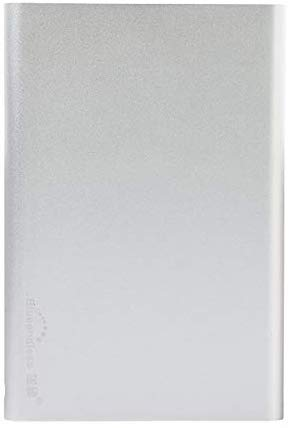 External Hard Drive Portable 1TB 2TB Slim External Hard Drive Compatible with PC, Desktop, Laptop, Mac (1TB, Silver)