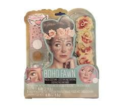 Boho Halloween Makeup (Fashion Angels Boho Fawn Insta Costume- DIY Fawn)
