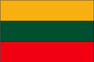 Lithuania Flag Polyester 3 ft. x 5 ft.