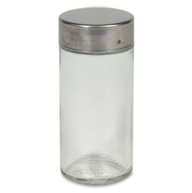 Clear Round Spice Bottle by RSVP