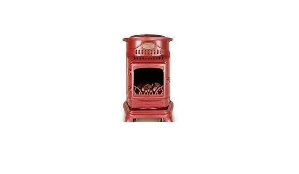 Calor Provence - Estufa de gas portátil (3 kW, sin combustible), color rojo: Amazon.es: Bricolaje y herramientas