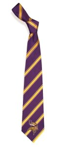 Minnesota Vikings NFL Football Sports Team Striped Mens Neck Tie