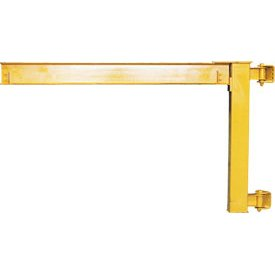 Abell-Howe Under-Braced Wall Mounted Jib Crane 960016 2000 Lb. Capacity