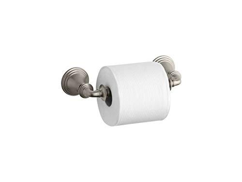 KOHLER K-10554-BN Devonshire Toilet Tissue Holder, Vibrant Brushed Nickel
