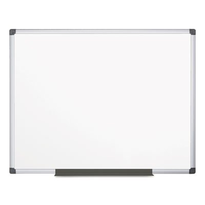 Value Lacquered Steel Magnetic Dry Erase Board, 48 x 72, White, Aluminum Frame, Sold as 1 Each