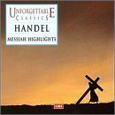 Price comparison product image Unforgettable Classics: Handel's Messiah [Highlights] by Harwood / Baker / Tear / ECO / Macke (2000-04-11) by Harwood / Baker / Tear / ECO / Macke (2000-04-11)