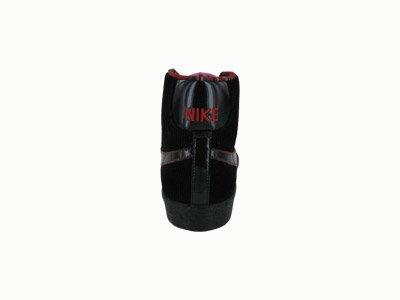 Nike Blazer Mid Womens Shoes Black/Sport Red/Chn Rose vwVO570Z